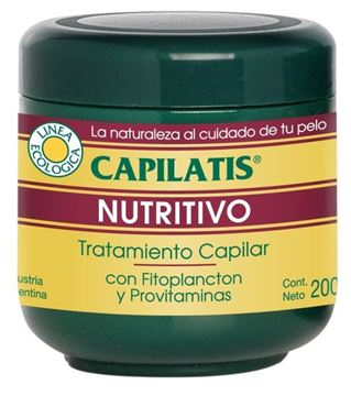 Imagen de CAPILATIS ECOLOGICA TRATAMIENTO NUTRITIVO 200 GR