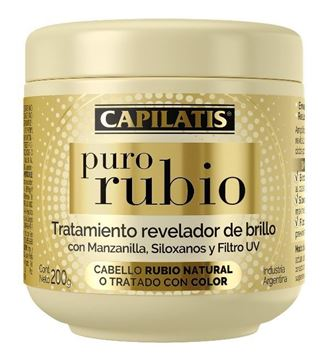 Imagen de CAPILATIS PURO RUBIO TRAT. REVELADOR DE BRILLO 200