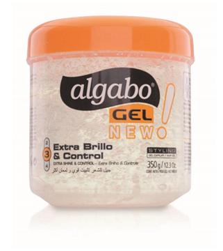 Imagen de ALGABO - GEL CAPILAR - INCOLORO - BRILLO - POTE - 350 GRS