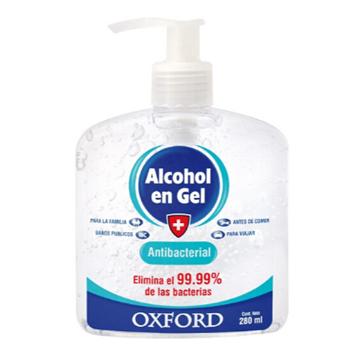 Imagen de OXFORD - ALCOHOL EN GEL - 280 ML