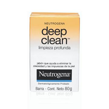 Imagen de NEUTROGENA - JABON DEEP CLEAN - 80 GRS